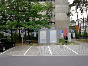 E-Ladesäule Immerwahrstraße 2a: 4 Ladepunkte