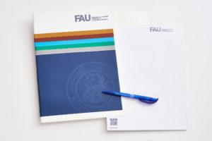 FAU-Mappe und Block