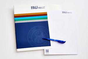 FAU-Block und -Stift