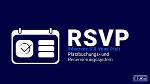 RSVP-Illustration mit Kalenderblatt